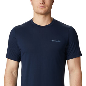 Columbia Maxtrail SS Logo Tee Men, collegiate navy